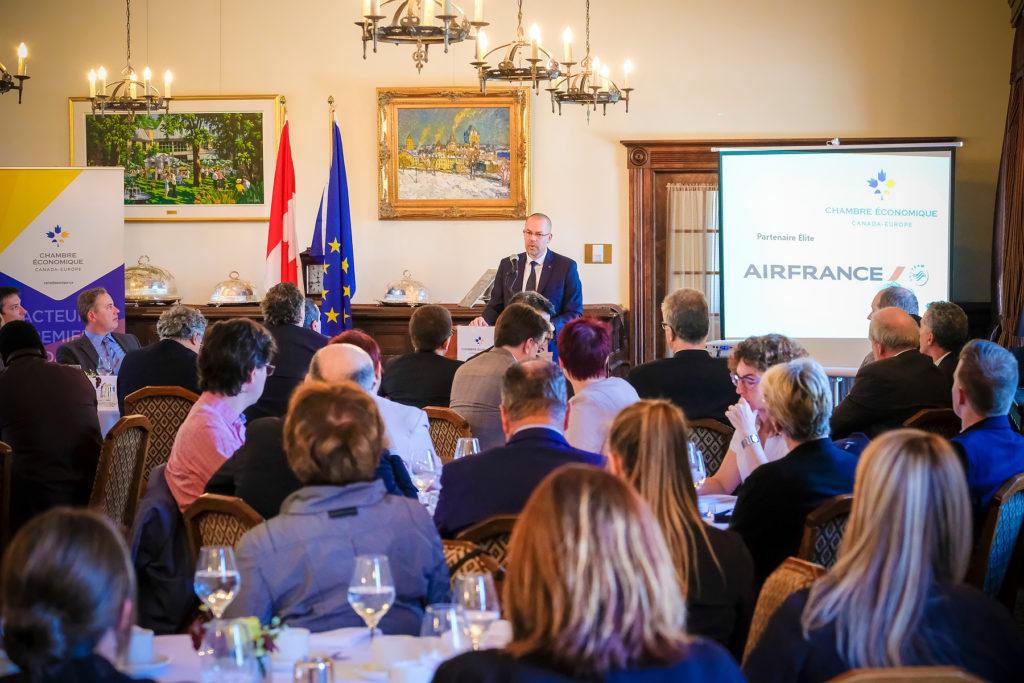 Conférence EU-Canada 2018